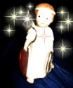 Engeljunge mit Sternen